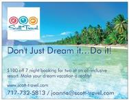 Scott Travel Promo
